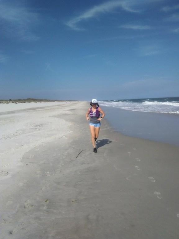 Running at Huntingon Beach State Park SC