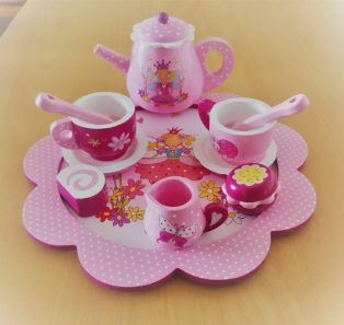 Wooden Fairytale Tea set