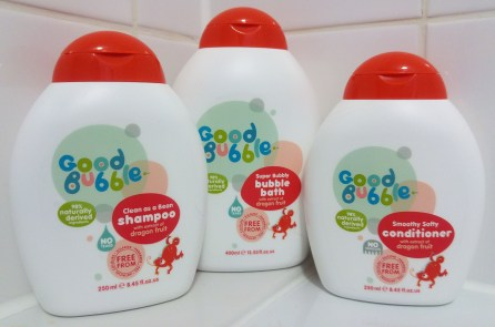 Good Bubble Natural Bath Products for Children