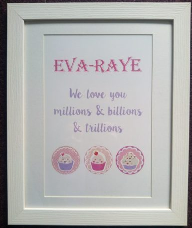 Personalised Family Print from The Card Gallery