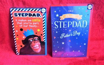 stepdad fathers day cards