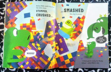 Stomp, crush, smash