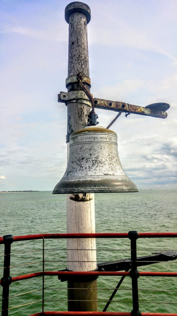 Southend pier bell