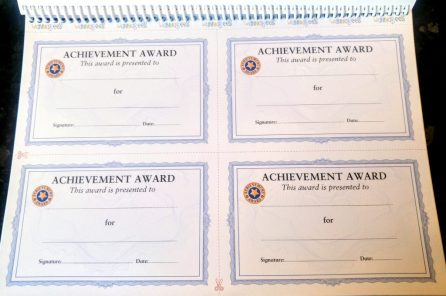 Role Play Teacher Pack - Achievement Awards