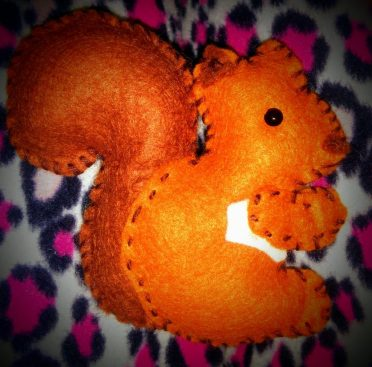 Stuffed Squirrel - Crafty Creatives subscription box