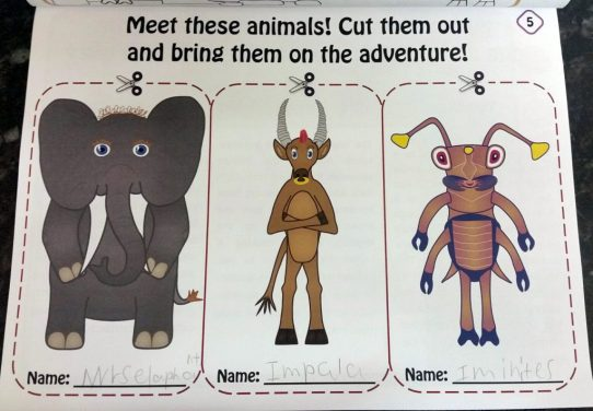 Cut out animals