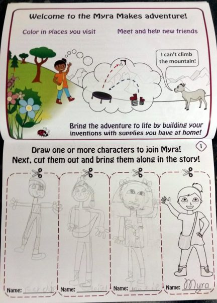 Character Drawing Activity