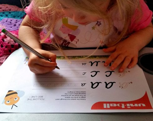 Improving Children's Handwriting
