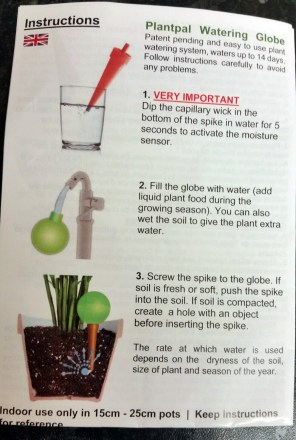 Plantpal instructions