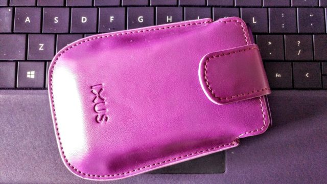 Purple Ixus Camera Case
