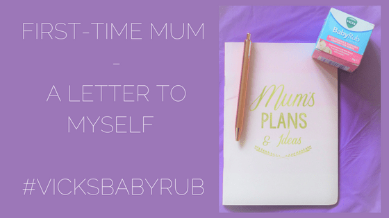 First-Time Mum #VicksBabyRub