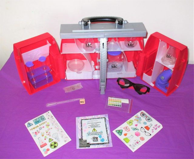 Project Mc2 Ultimate Lab Kit Contents