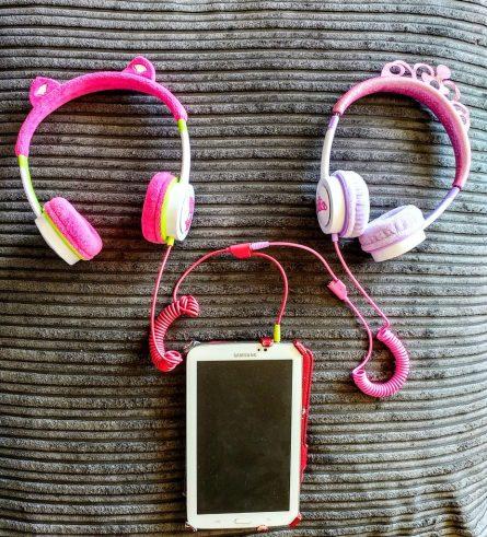 ZAGG ifrogz Little Rockerz Children's Volume Limiting On-Ear Headphones, Kitten & Princess