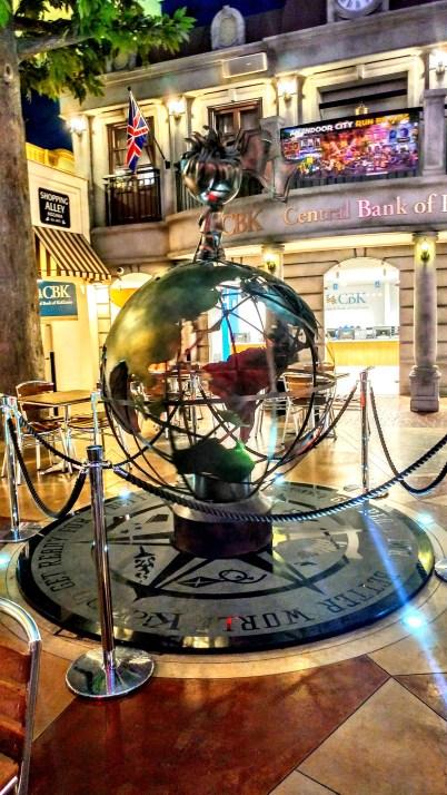 Kidzania globe