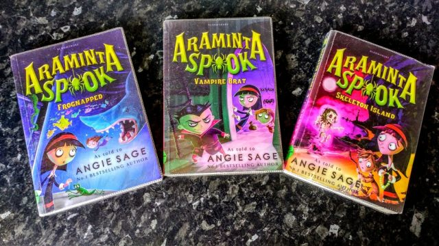 Araminta Spook Book Series
