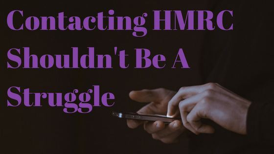 Contacting HMRC shouldn't be a struggle