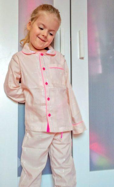 Shimmering pyjamas
