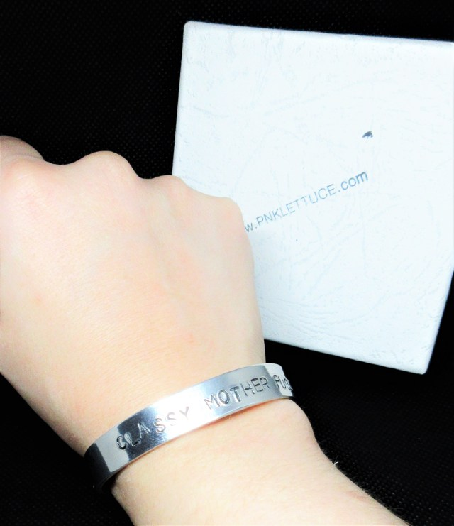 Inappropriate Jewellery - Classy Mother Fucker Bangle