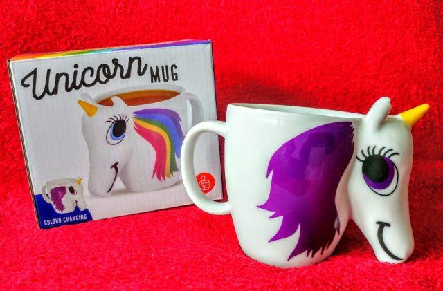 Unicorn Heat Change Mug