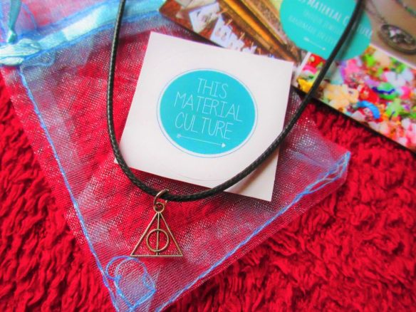 Harry Potter necklace - This material culture