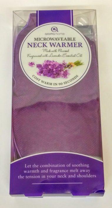 Purple Microwavable Neck Warmer