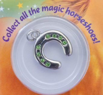 Collectible magic horseshoe charm