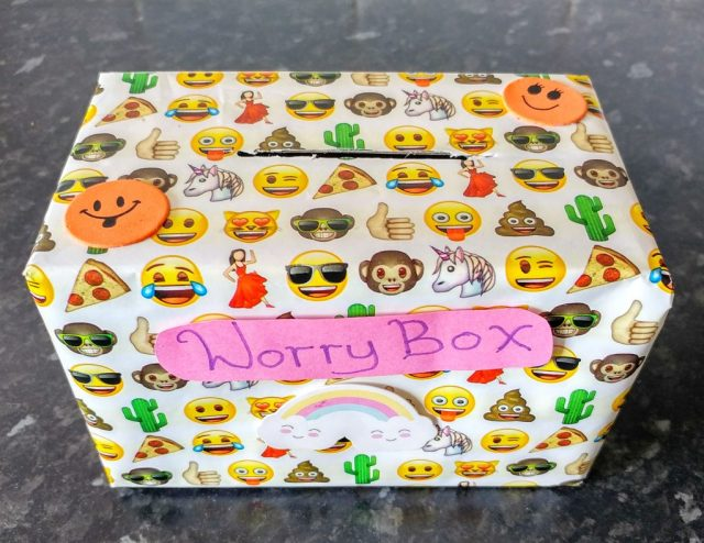 Worry Box Craft