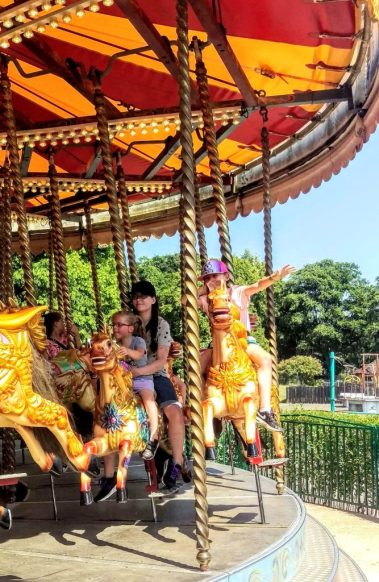 Merry Go Round at Wicksteed Park