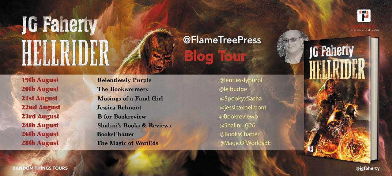 Hellrider By JG Faherty – Blog Tour