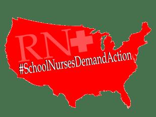 #SchoolNursesDemandAction