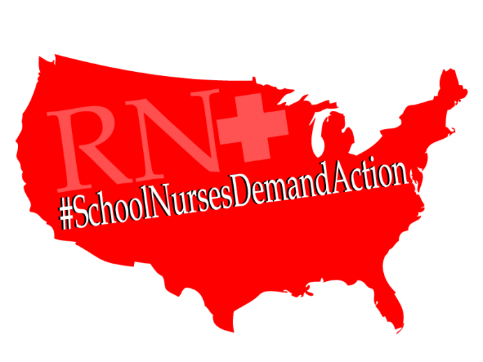 #SchoolNursesDemandAction