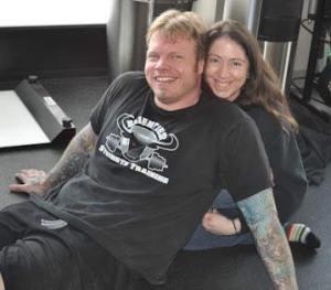 Rob and Melissa