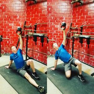 kyle mitchell relentless strength training bottoms-up tgu