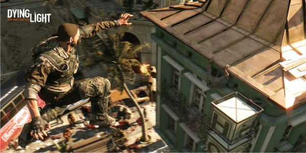 Dying Light Jumping