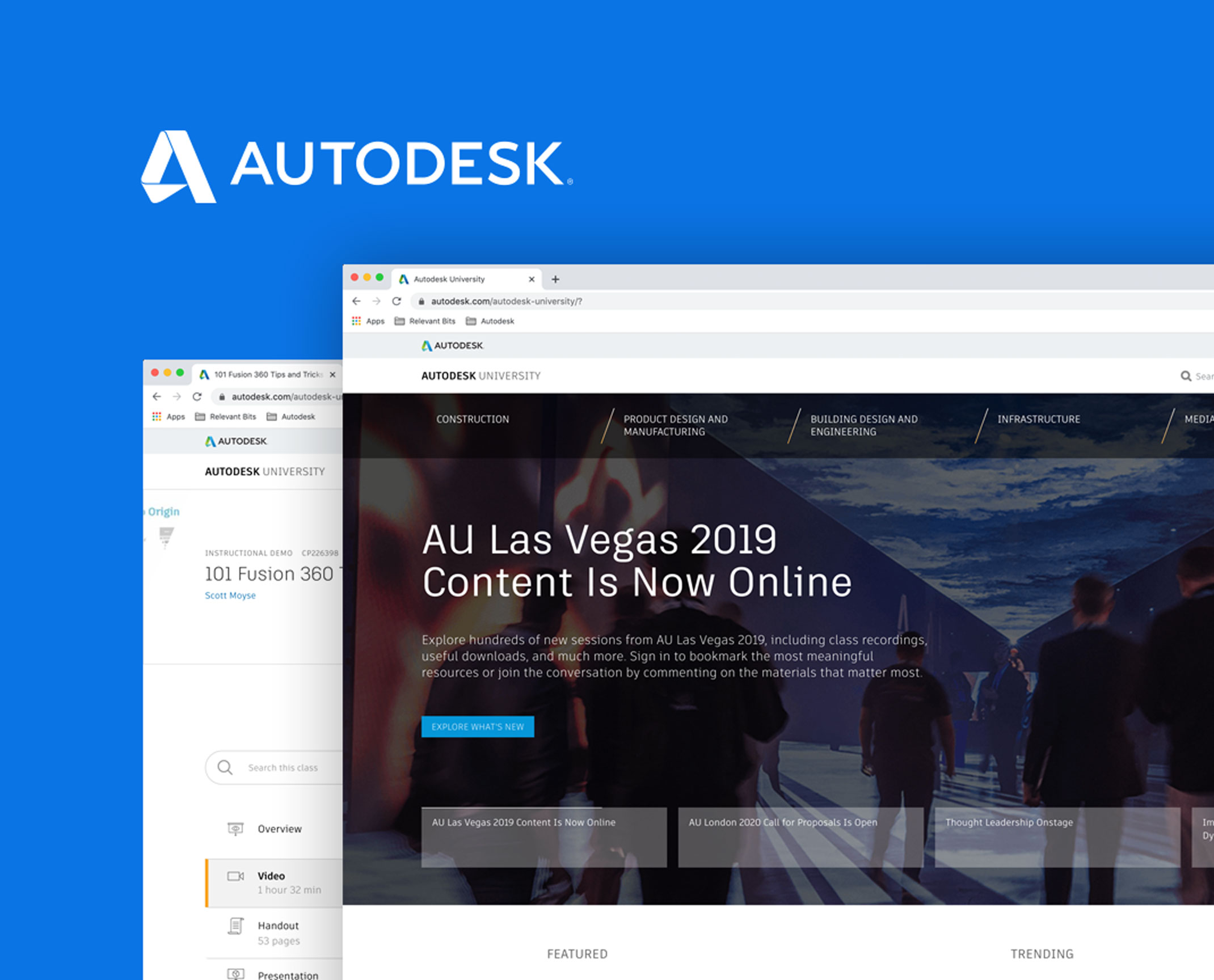 Autodesk - Personalization and Performance