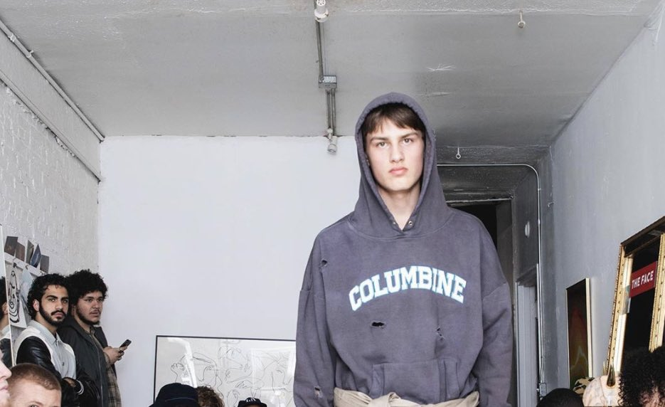 What Was This Vogue Model Pondering With Faculty Taking pictures-Themed Sweatshirts?