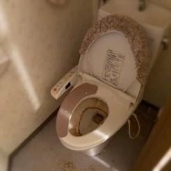 トイレ 清掃前