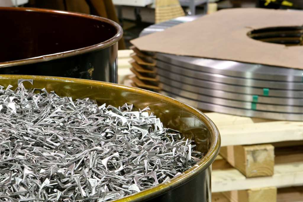 Precision metal stampings.