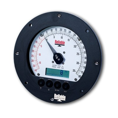 DD-06 Wireline weight indicator / Drilling Rig Weight Indicator (shown with offset zero option)