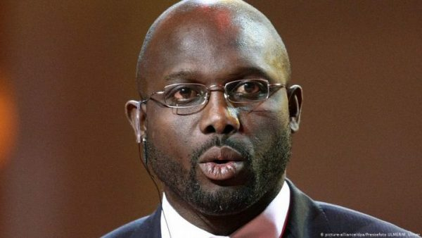 George Oppong Weah, President of Liberia