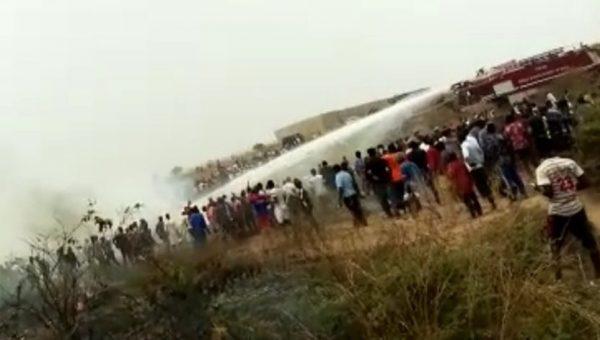 Nigerian Air Force plane cxrash