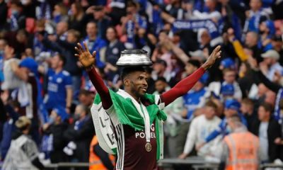 Iheanacho dents Man City's Grealish debut as Leicester win Community Shield