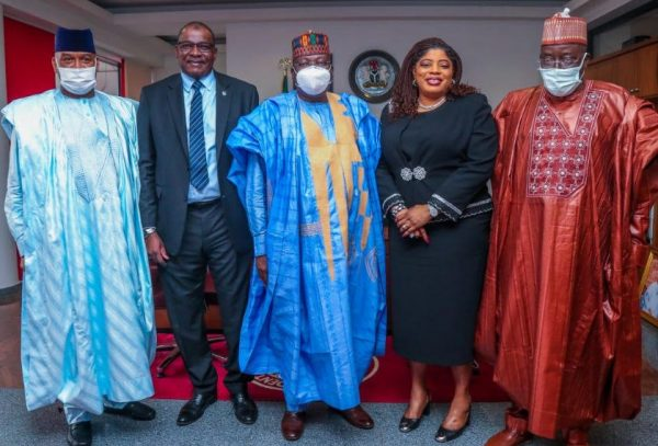 Fidelity Bank EXCO visits with Senate President