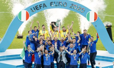 England falls 3-2 to Italy in Euro 2020 final