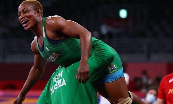 Tokyo Olympics: Oborodudu wrestles Silver medal for Nigeria