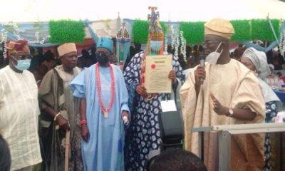 New Olu of Imasailand, Kuoye, thanks Gov Abiodun, promises inclusive reign