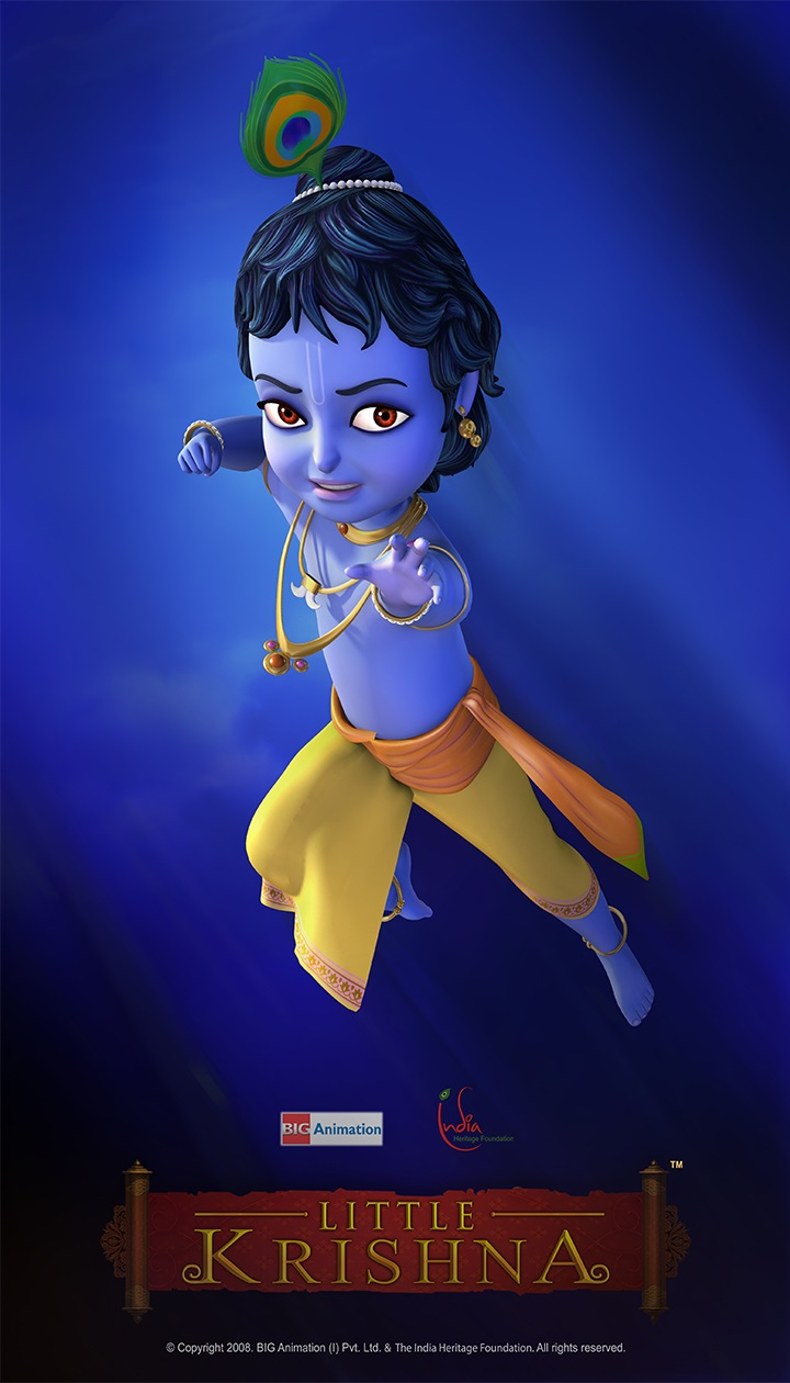 Little Krishna Animated Tv Series By Big Animation