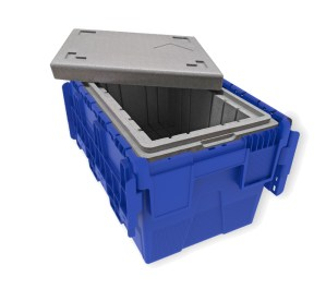 Outer container is a robust ALC made from high impact polypropylene
