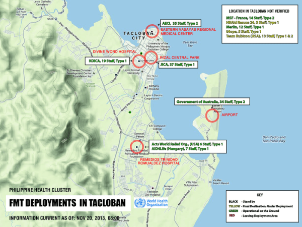Philippines  Foreign Medical Team deployments in Tacloban   20     preview