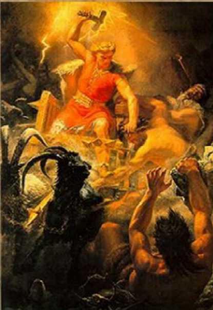 Esto es un Dios con dos cojones, y no ese mierda seca de Cristo